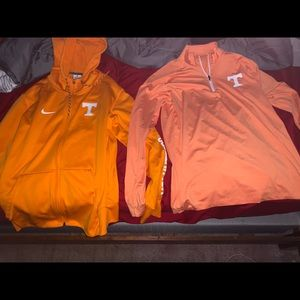 Tennessee Nike Jacket and Tennessee Pullover